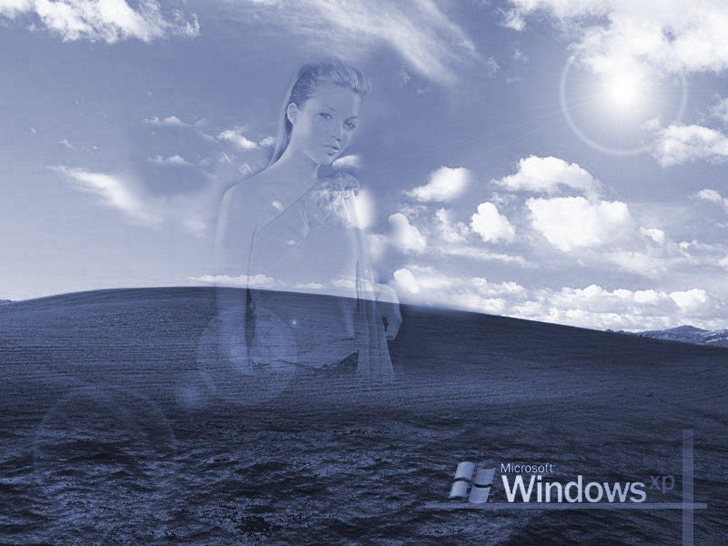 Wallpaper femme Theme Windows XP