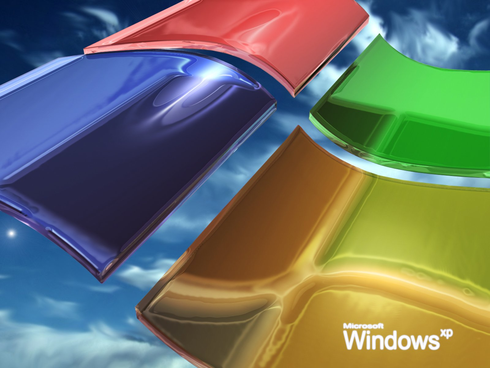 Wallpaper jolie Theme Windows XP