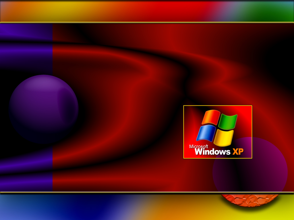 Wallpaper Theme Windows XP jolie effet