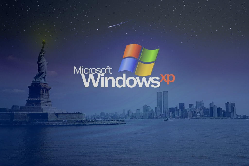 Wallpaper Theme Windows XP new york