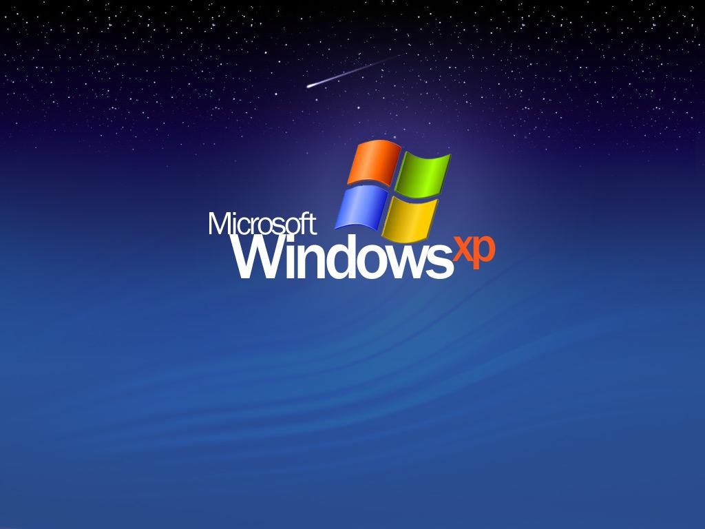 Wallpaper nuit etoile Theme Windows XP