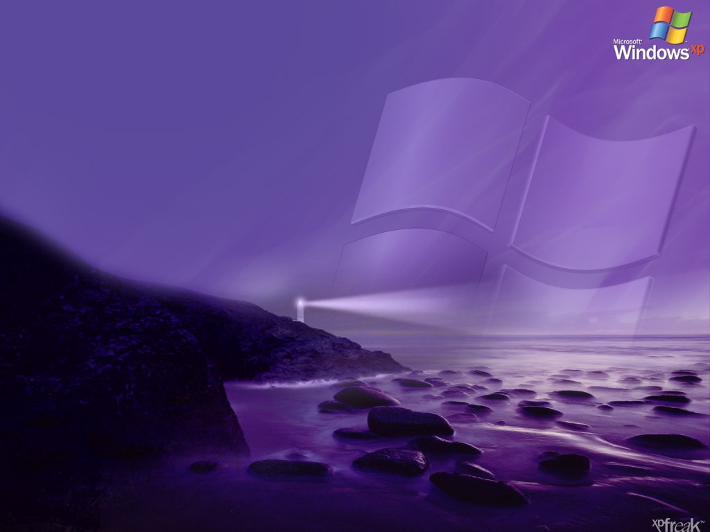 Wallpaper Theme Windows XP phare