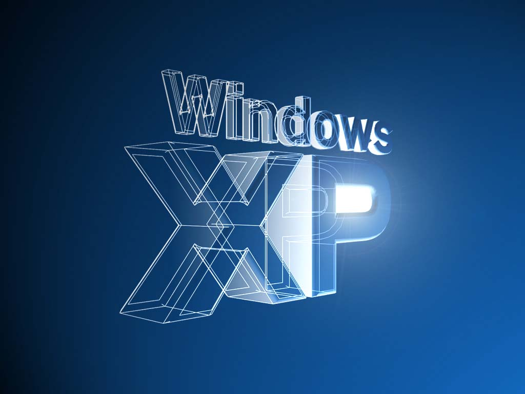 Wallpaper Theme Windows XP trensparant