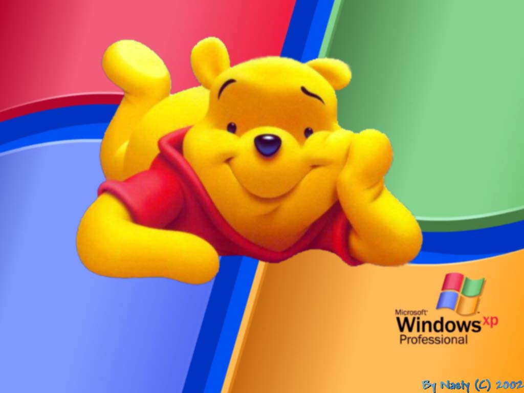 Wallpaper winnie Theme Windows XP