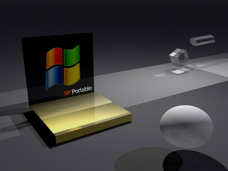 Wallpaper Theme Windows XP 3D