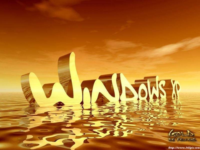 Wallpaper Theme Windows XP beau design