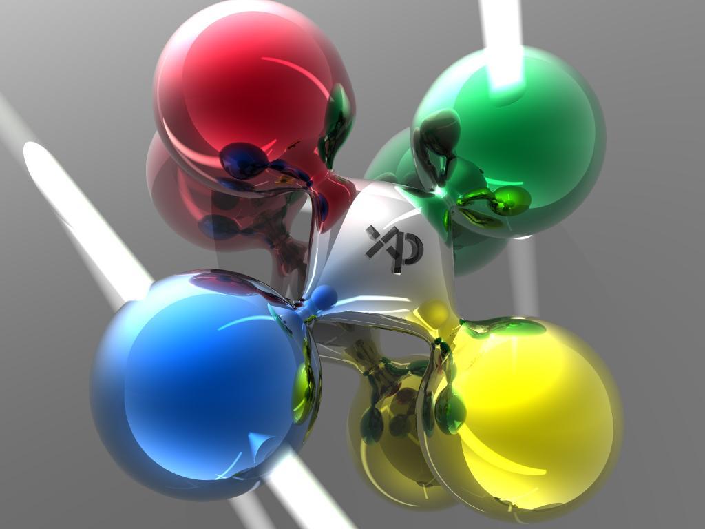 Wallpaper chimie Theme Windows XP