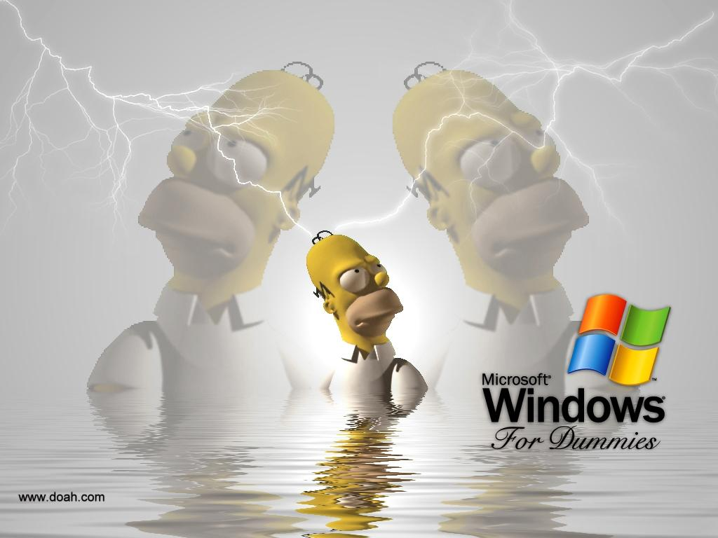 Wallpaper Theme Windows XP hommer
