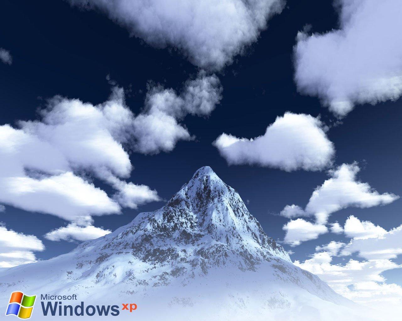 Wallpaper Theme Windows XP montagne