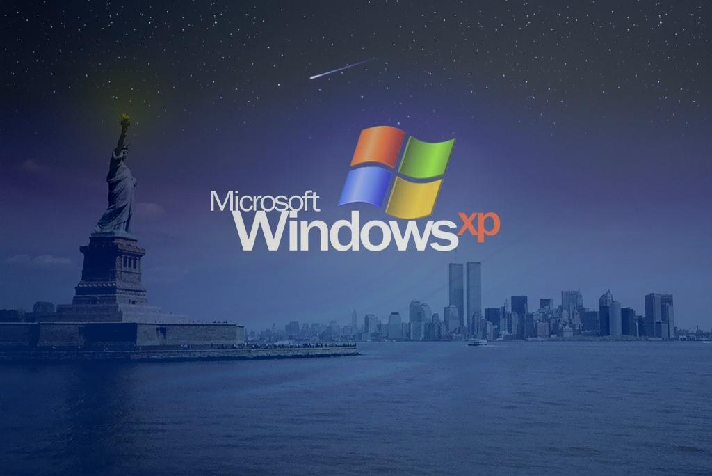 Wallpaper Theme Windows XP new york