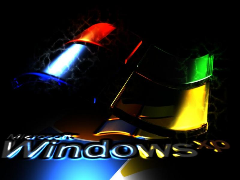 Wallpaper Theme Windows XP noir