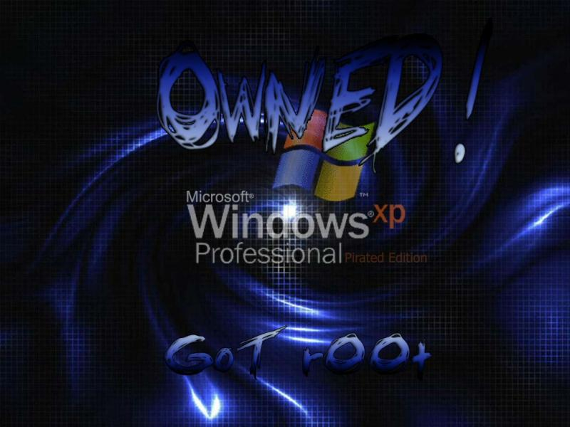 Wallpaper Theme Windows XP owned
