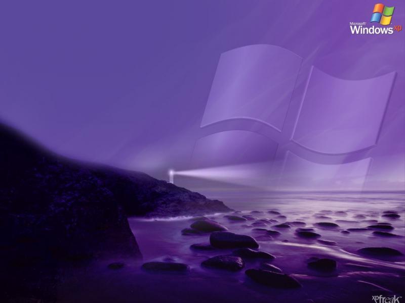 Wallpaper Theme Windows XP phare