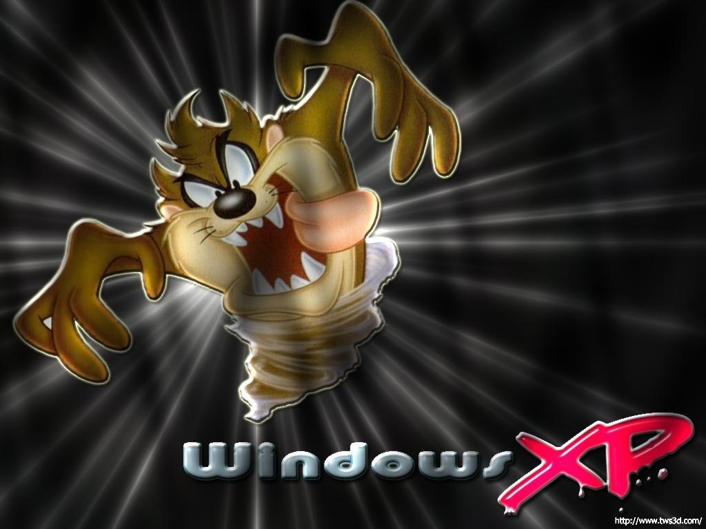 Wallpaper Theme Windows XP taz
