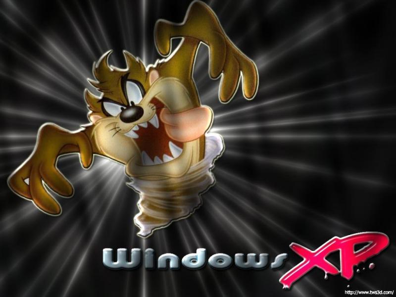 Wallpaper Theme Windows XP taz