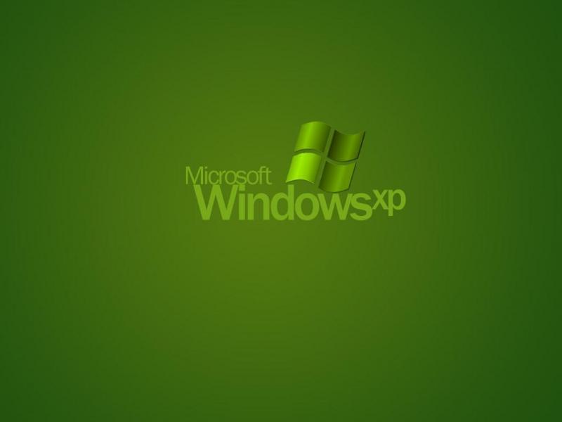 Wallpaper Theme Windows XP verdure