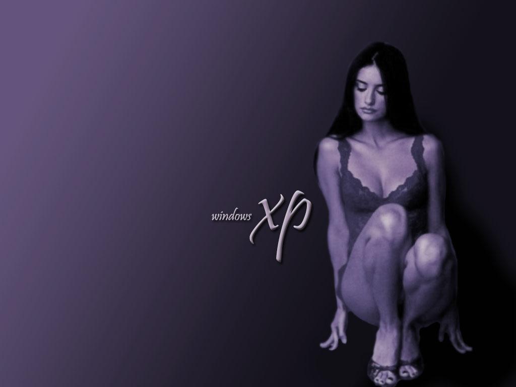 Wallpaper Theme Windows XP WIN XP sexy penelope