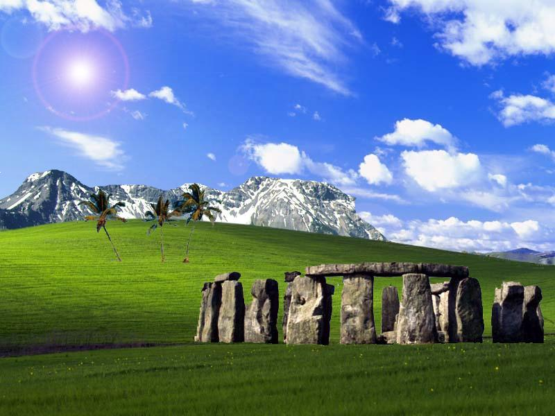 Wallpaper WIN XP Bliss Theme Windows XP