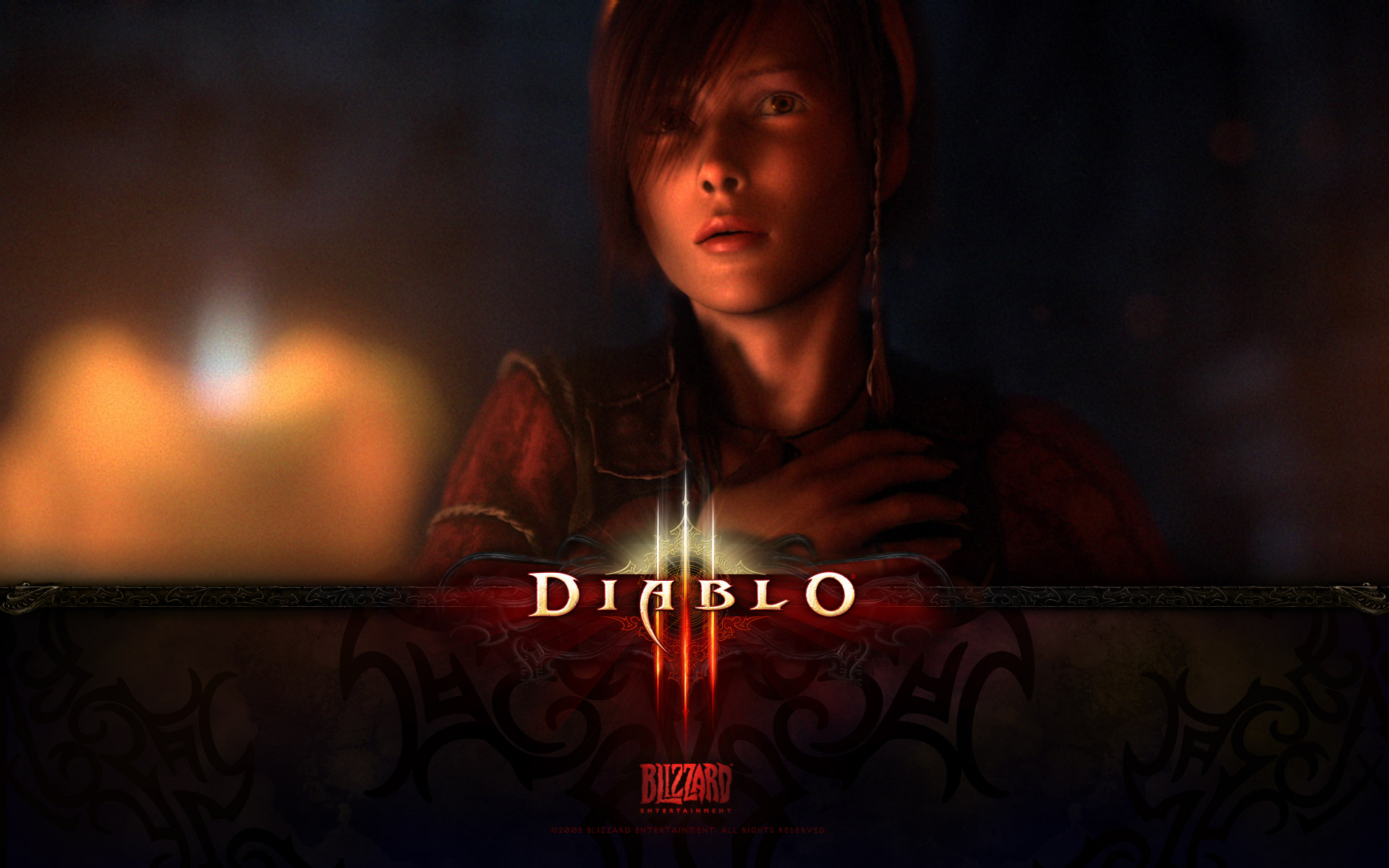 Wallpaper Jeux video Diablo 3 LEAH