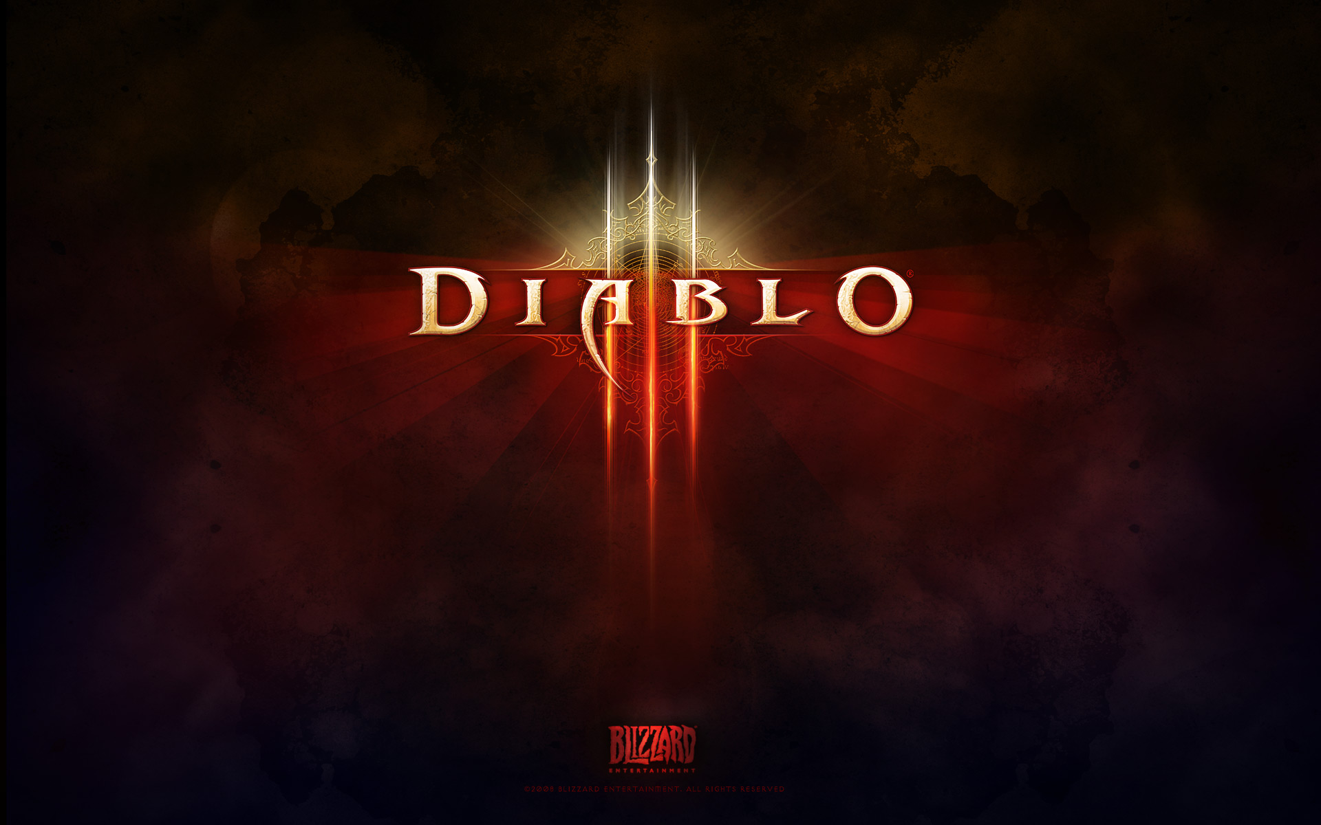 Wallpaper Diablo 3 LOGO Jeux video