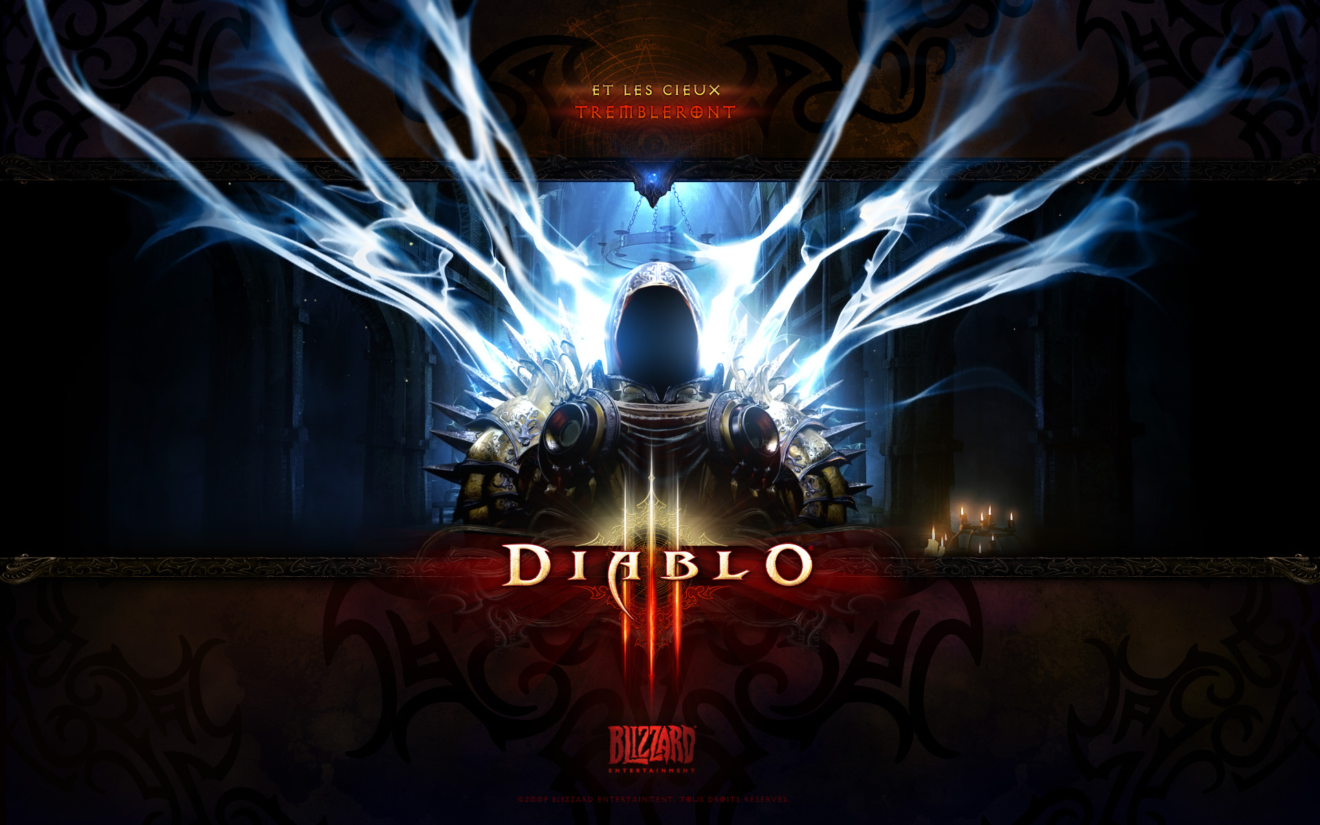 Wallpaper Diablo 3 Tyrael Jeux video