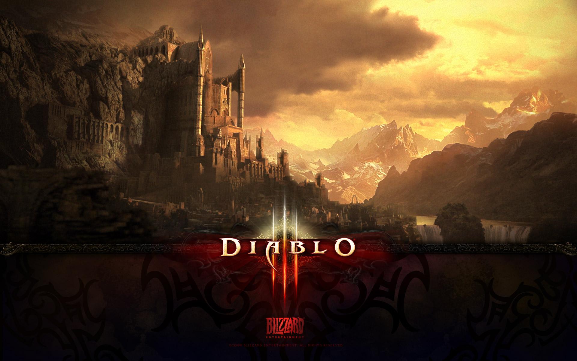 Wallpaper Diablo 3 UREH Jeux video