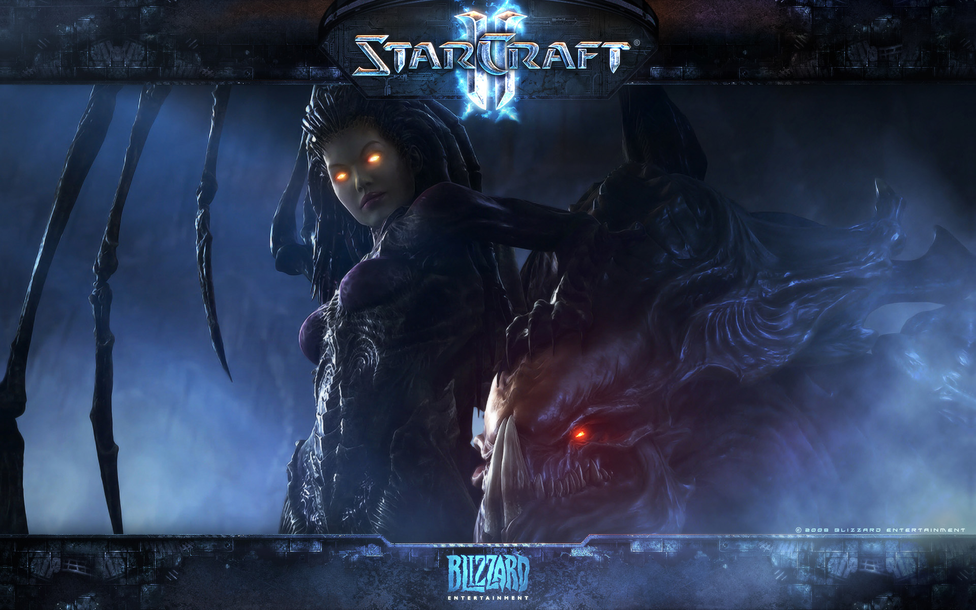 Wallpaper Jeux video StarCraft 2 Kerrigan