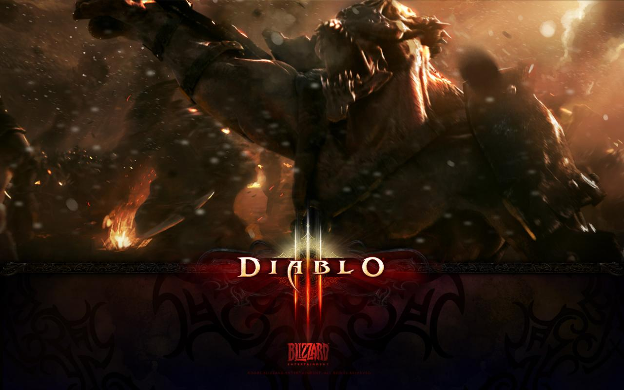 Wallpaper Diablo 3 Armee Jeux video