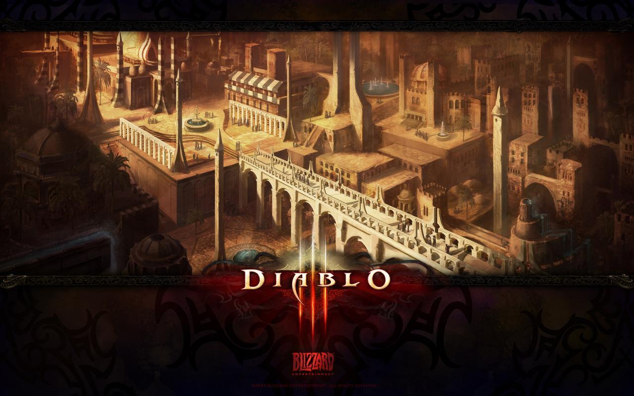 Wallpaper Diablo 3 Caldeum Jeux video