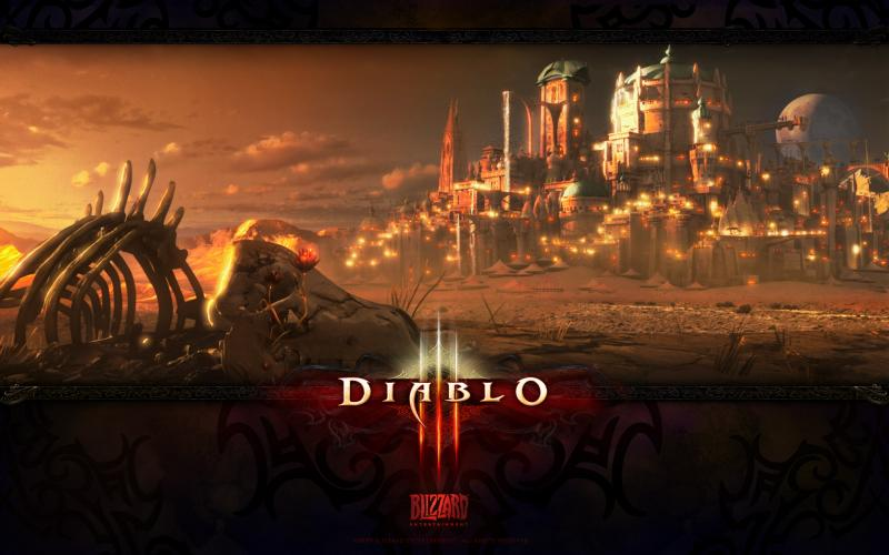 Wallpaper Jeux video Diablo 3 Caldeum 2