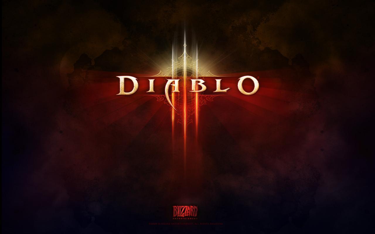 Wallpaper Diablo 3 LOGO Jeux video