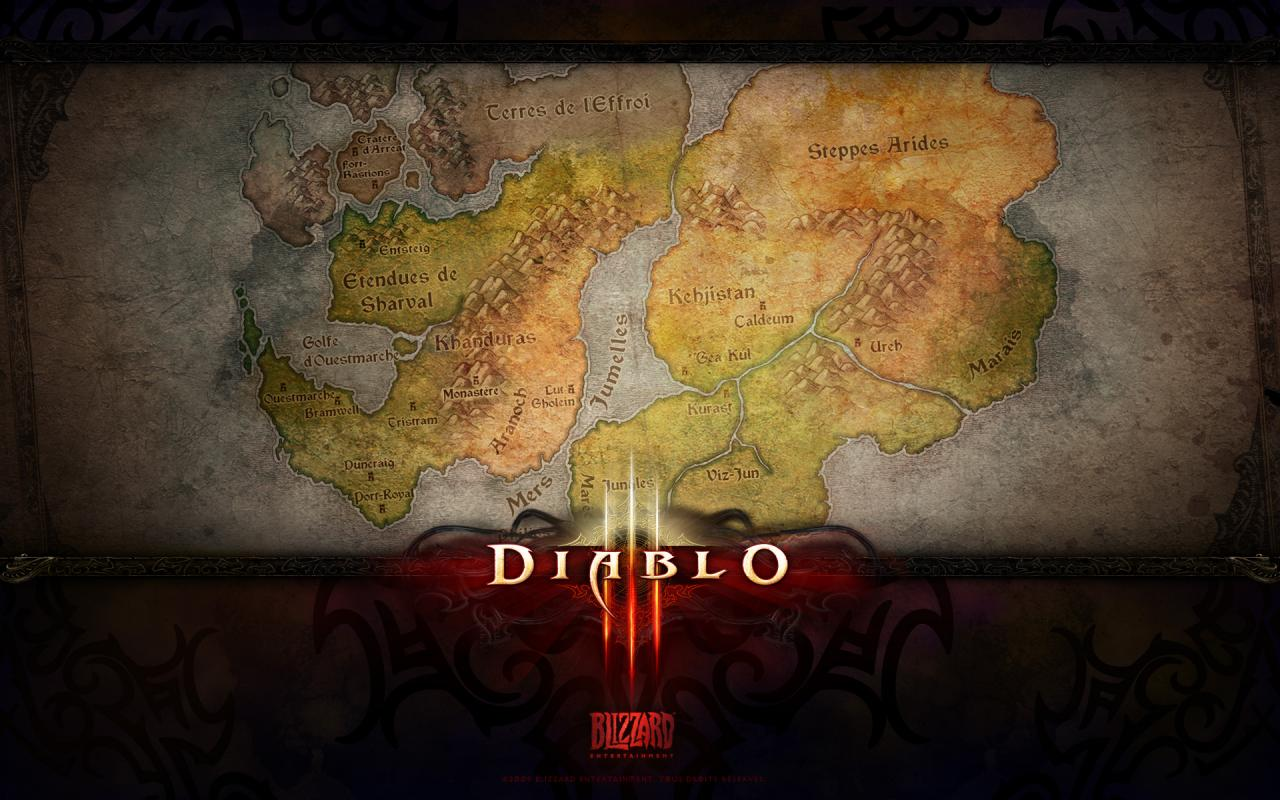Wallpaper Diablo 3 Sanctuaire Jeux video