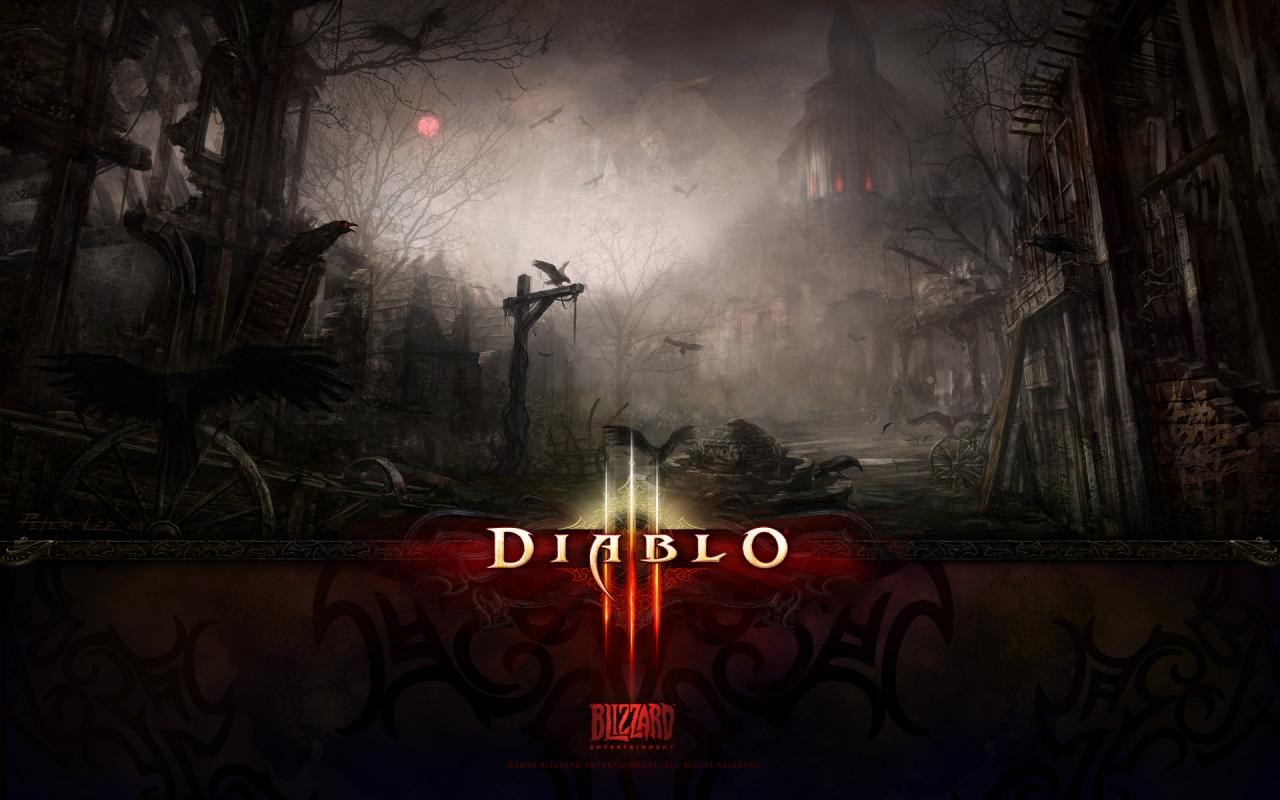Wallpaper Diablo 3 Tristram Jeux video
