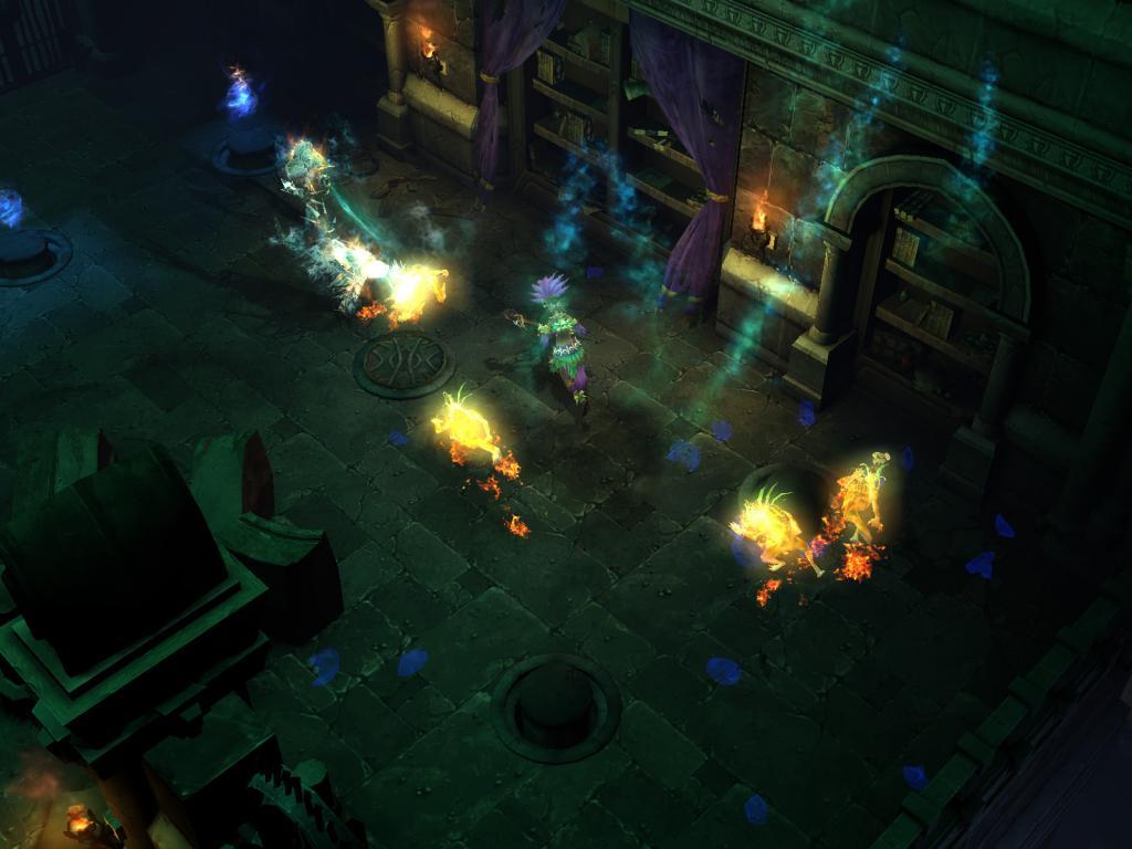 Wallpaper Diablo 3 capture ecran necromancien Jeux video
