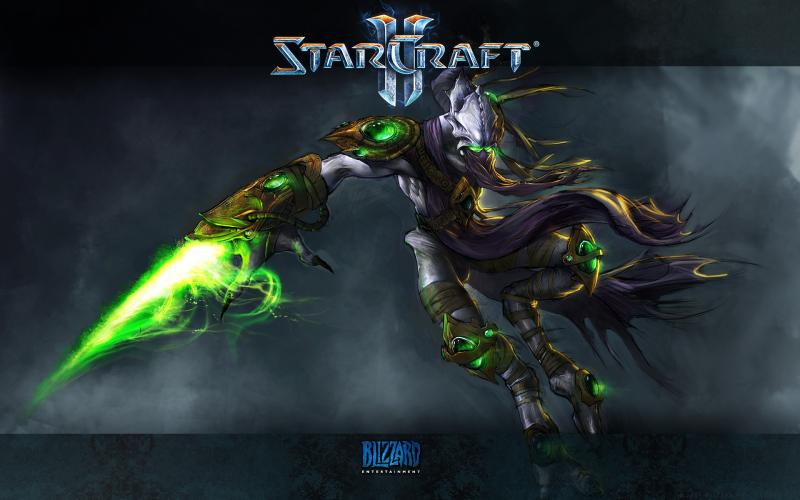 Wallpaper StarCraft 2 - Zeratul Jeux video