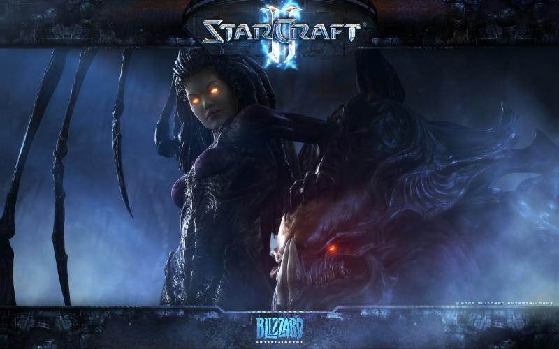 Wallpaper StarCraft 2 Kerrigan Jeux video