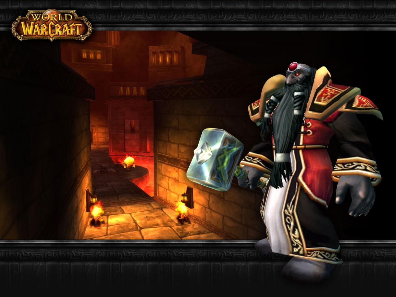 Wallpaper Word of Warcraft WoW Dark Irons