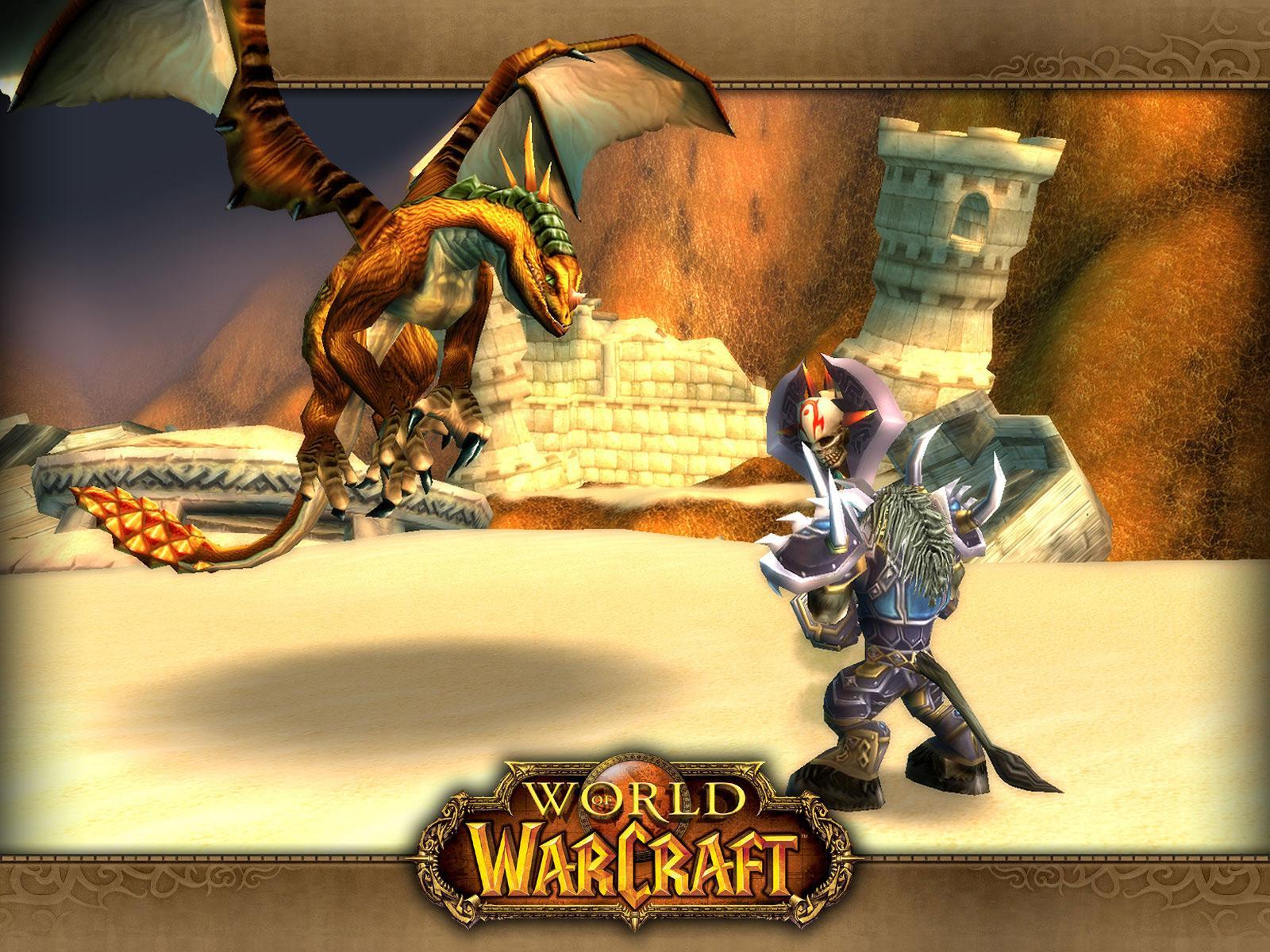 Wallpaper bronzedragonhunt Word of Warcraft WoW