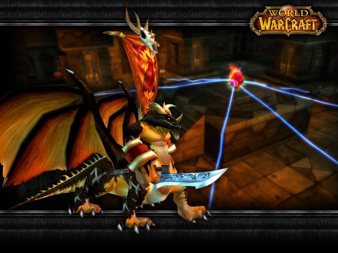 Wallpaper Word of Warcraft WoW dragon kin
