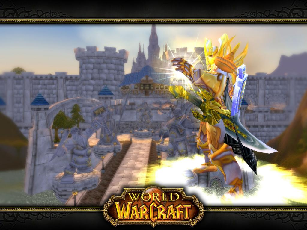 Wallpaper Word of Warcraft WoW forthe light