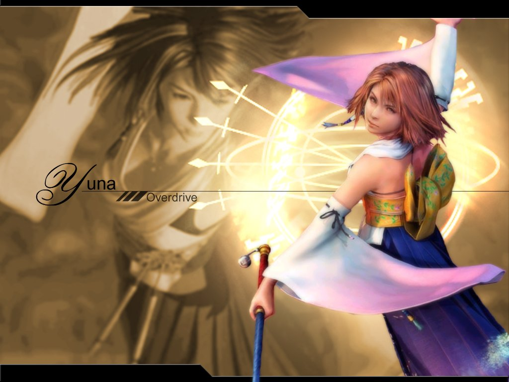 Wallpaper Final Fantasy 10 ceremonie de l au dela