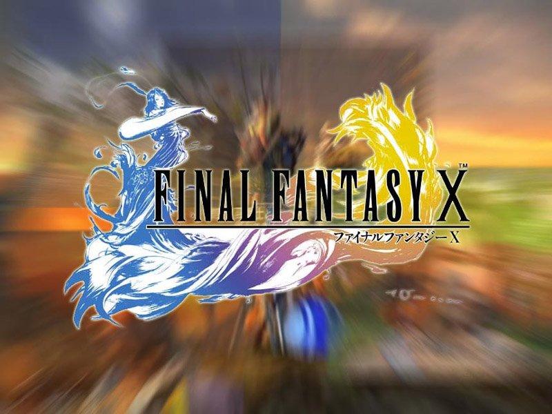 Wallpaper Final Fantasy 10 gros titre