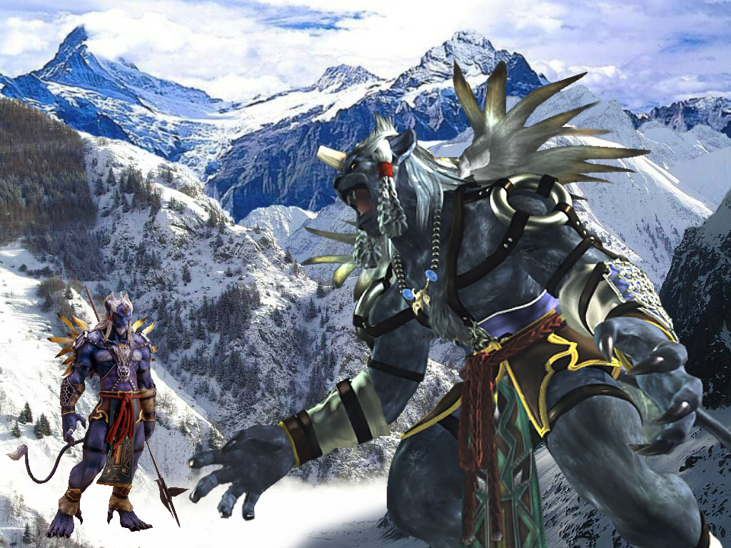 Wallpaper Final Fantasy 10 kimahri