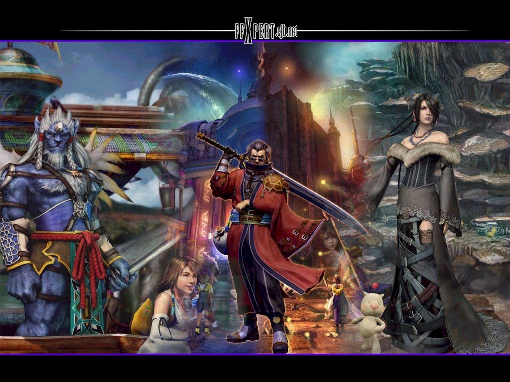 Wallpaper le groupe Final Fantasy 10