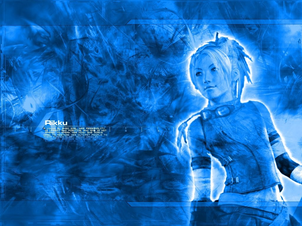 Wallpaper Final Fantasy 10 rikku