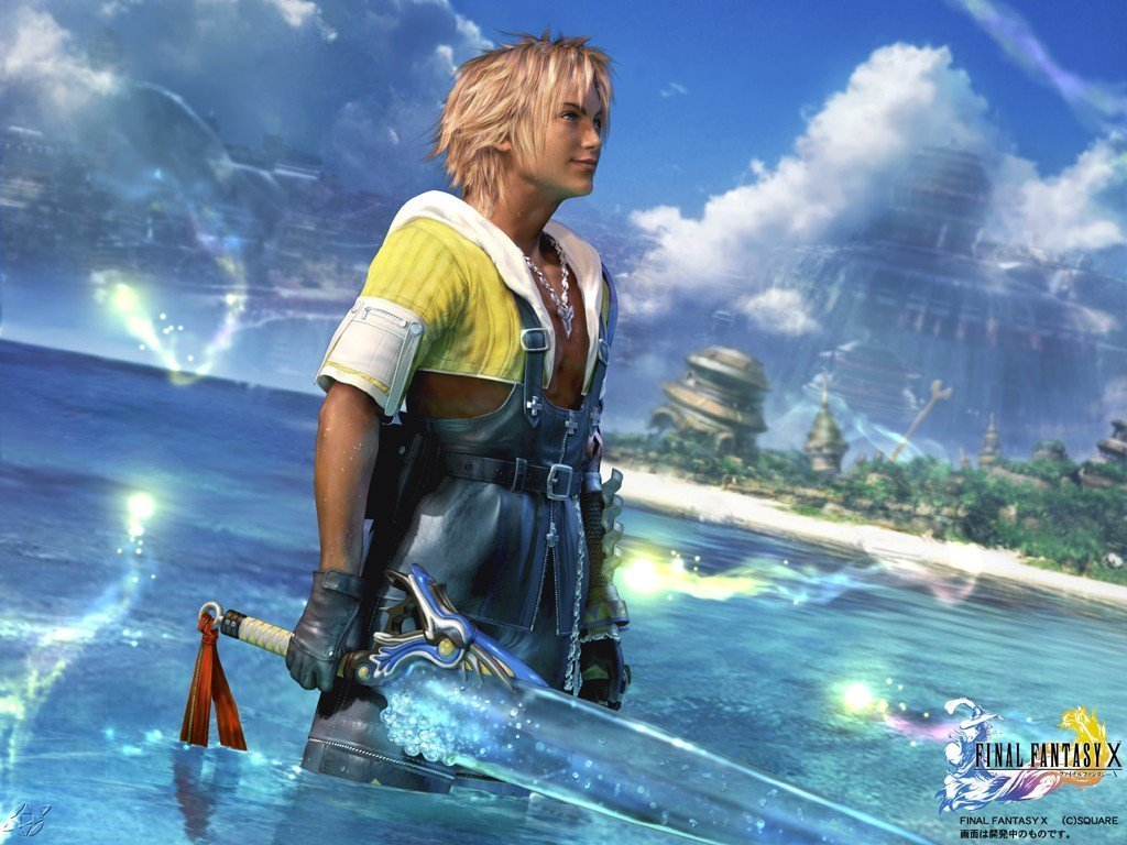 Wallpaper Final Fantasy 10 tidus