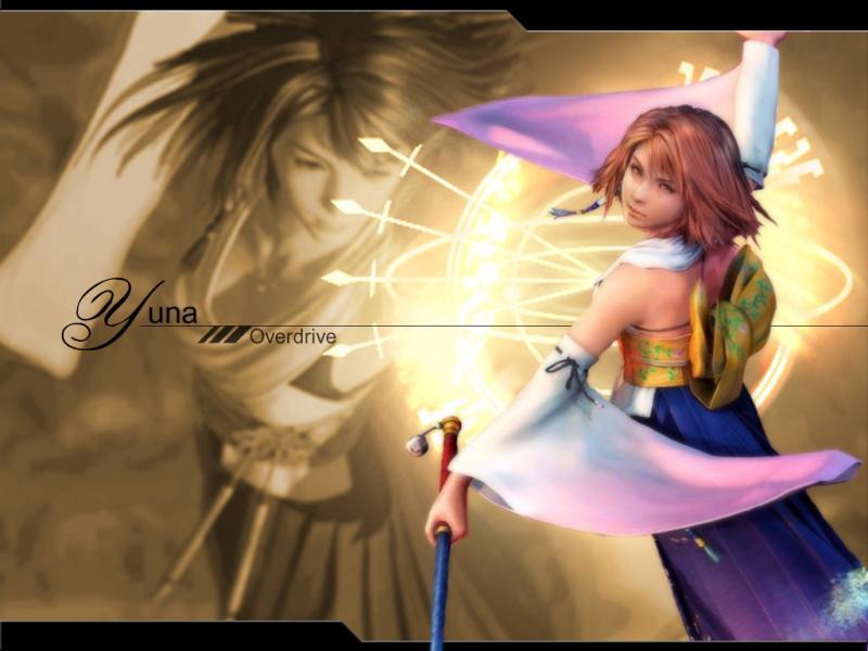Wallpaper Final Fantasy 10 ceremonie de l au dela