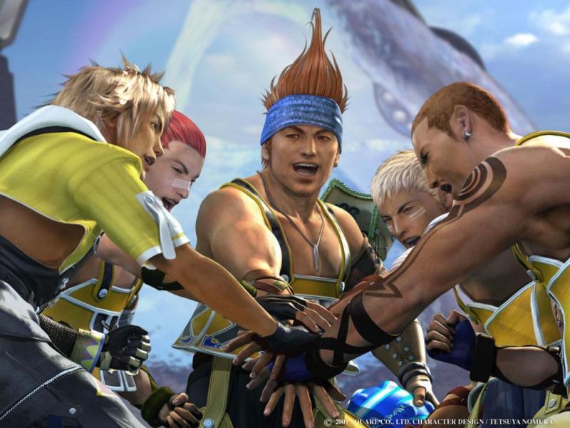 Wallpaper equipe de blitzbaal Final Fantasy 10