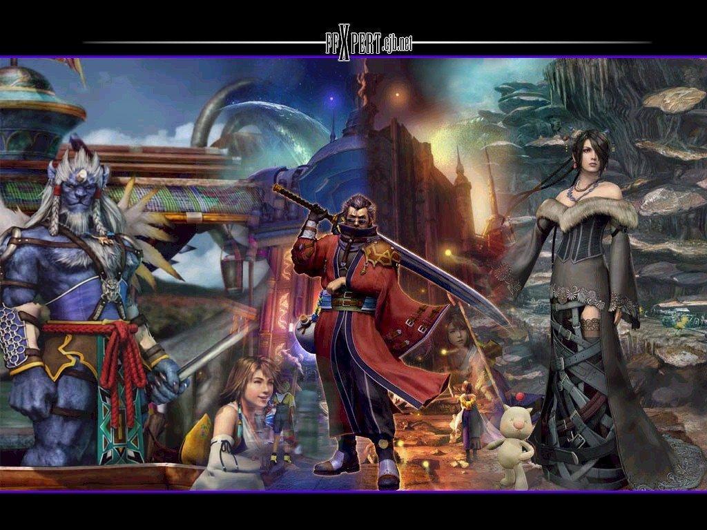 Wallpaper le groupe Final Fantasy 10