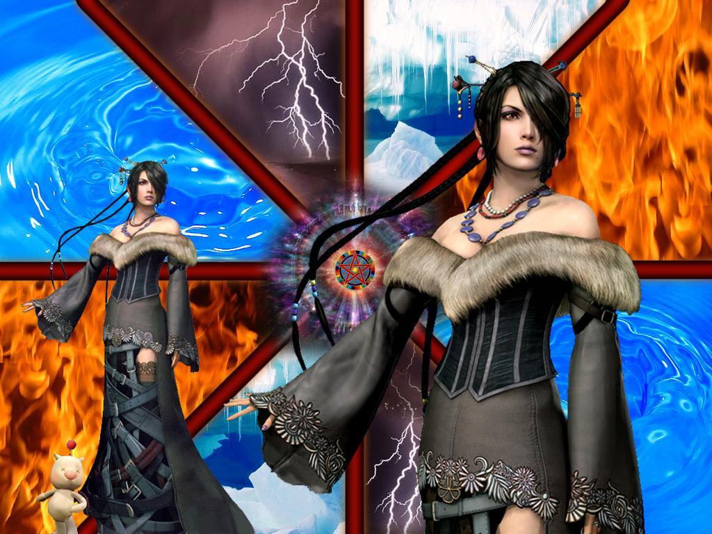 Wallpaper Final Fantasy 10 lulu